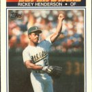 1990 K-Mart 23 Rickey Henderson