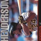 1993 Triple Play 219 Rickey Henderson