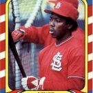 1987 Fleer Limited Edition 10 Vince Coleman