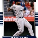 2015 Donruss 107 Matt Kemp