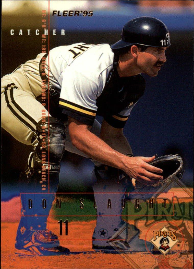 1995 Fleer 488 Don Slaught