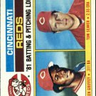 1982 Topps 756 Reds TL/Griffey/Seaver