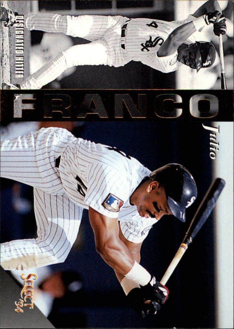 1994 Select 288 Julio Franco