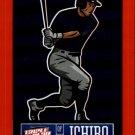 2013 Triple Play Stickers Red 17 Ichiro Suzuki