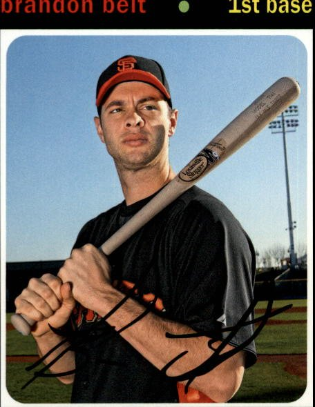 2012 Topps Archives 99 Brandon Belt