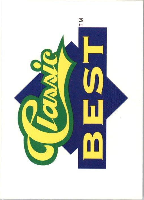 1991 Classic Best 393 Checklist