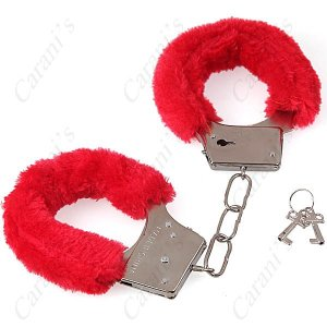 Soft Wrapped Fluffy Romantic Love-Cuff Handcuffs Naughty Gadget FNG-14117