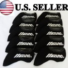 MIZUNO Golf Iron Head Covers 10pcs LEFT HANDED BLACK Color Headcover Club
