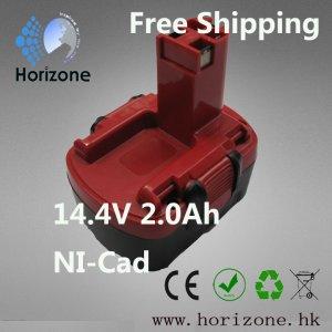 14.4v 2.0Ah Replacement Power Tool Battery for Bosch GSR 14.4 V PSR 14.4 BAT038,BAT040,BAT041