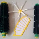 bristle brush flexible beater side brush Filter for irobot roomba 500 cleaner