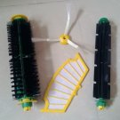 bristle brush flexible beater side brush for irobot roomba 500 cleaner