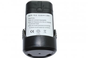 10.8v 1.5Ah Replacement Power Tool Battery for Bosch GSA 10.8 V-LI ,BAT504,PS40 GDR 10.8 V-LI