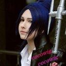 Hitman Reborn Rokudo mukuro Cosplay Short  Blue wig
