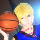 Kuroko's Basketball New short yellow Cosplay Party Synthetic Wig