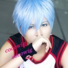 Kuroko's Basketball Kuroko Tetsuya Ice Blue Gradient Cosplay Wig