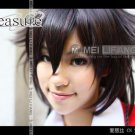 Fashion Pandora Hearts Alice Black Rabbit Black with Red Long 130cm Cosplay Wig