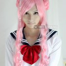 Long Wavy Code Geass Euphemia Li Britannia Anime Cosplay Party Hair Full Wig