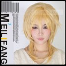 Vocaloid Kagamine Len New Long Golden Yellow Party Straight Cosplay Party Synthetic Wig