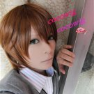 Sekai-ichi Hatsukoi Ritsu Onodera Short Dark Brown Costume Cosplay Wig