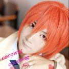 Angel Beats Otonashi Yuzuru Short Orange Anime Cosplay Party Hair  Wig