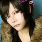 DuRaRaRa!! DRRR!! Izaya Orihara Short Black Anime Cosplay Party Hair Wig