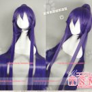 Fashion Animation vocaloid miku gakupo Purple Cosplay Wig Clip Ponytai