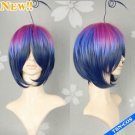 AO No Exorcist Mephisto Pheles Color Mixed Cosplay Costume Wig