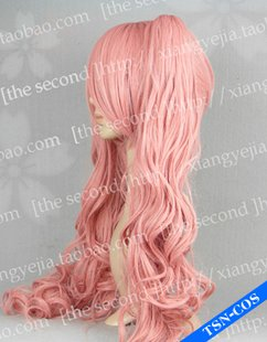 Perona ONE PIECE Long Curly Pink Ponytails Anime Cosplay Party Hair Full wig