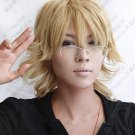 New Barnaby Brooks Jr. Tiger & Bunny Short Anime Cosplay Party Hair Full wig