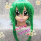 Fashion Animation VOCALOID/Gumi Cosplay Anti-Alice Grass Green Cosplay Wig