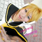 Vocaloid Kagamine Len Rin Mixed Golden Cosplay Party Full Hair Wig
