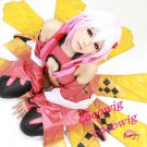 Guilty Crown Inori Yuzuriha Icepink Gradient Color Anime Cosplay  party Wig