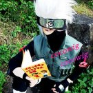 Naruto Hatake Kakashi Short layered Silvery White 35cm short party cosplay wig