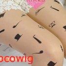 Woman  Fashion Sexy Tattoo hat print Pantyhose & Tights Leggings  Stocking