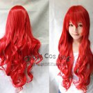 Charming Hot Sexy Long  Red Big Spiral Lady's Cosplay Hair Full Wig