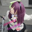 Angel Beats! Nakamura Yuri Rose Purple Cosplay Party Hair Wig