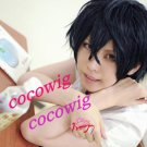 Tonari no Kaibutsu-kun Haru Yoshida Short Black Christmas Party Cosplay Hair Wig