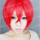 Starry☆Sky Yoh Tomoe  red short cosplay wig