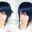 new K Munakata Reisi blue black short cosplay wig