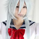 Pandora Hearts Alice Undertaker Cosplay Wig Party Hair 130cm Silver White