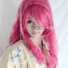 Vocaloid Megurine Luka Sandplay Red Long Curly Cosplay Party Hair Wig