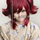 Black Butler-Merlin Red Anime Straight Ponytail Cosplay Wig