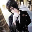 Kuroshitsuji Black Butler Sebastian Michaelis Black Short Anime Cosplay Wig