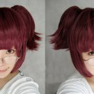 Black Butler-Merlin wine Red Anime Straight Ponytail Cosplay Wig