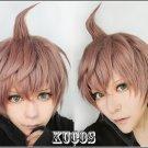 New! Danganronpa Dangan-Ronpa 2 naegi makoto Anime Cosplay Wig + free gift