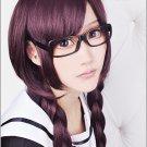 Danganronpa Dangan-Ronpa Tōko Fukawa Long 100cm Braids Costume Cosplay wig