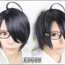 Brothers Conflict Asahina Azusa Short Purple mix Cosplay Wig