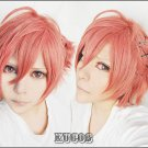 Brothers Conflict AsahinaFuto short orange cosplay wig