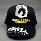 Anime Attack on Titan military police regiment Mikasa Ackerman Cosplay Baseball Cap