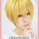 Kuroko's Basketball Ryota Kise short blonde costume cosplay wig + wig cap